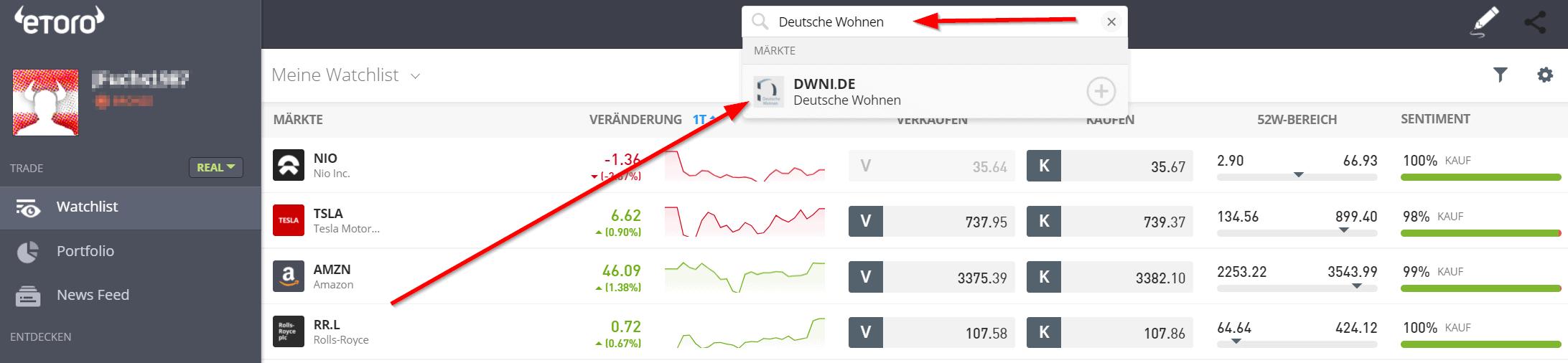 Deutsche Wohnen Aktie kaufen