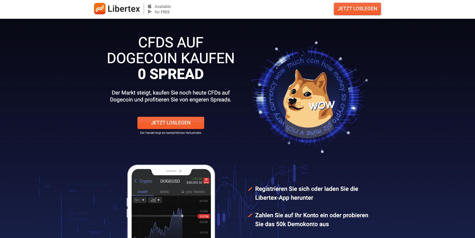 Dogecoin CFDs