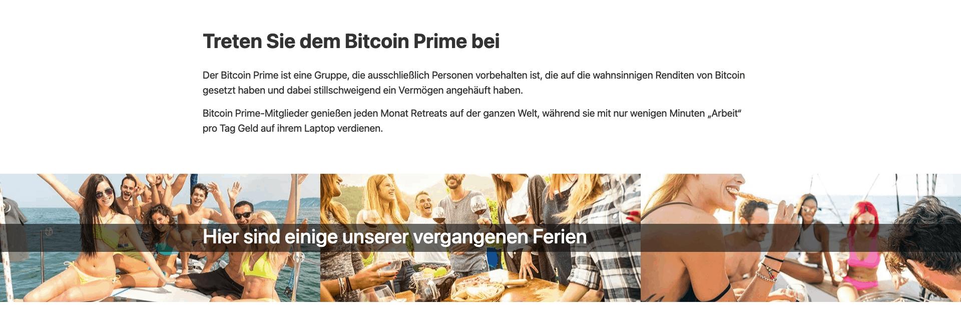Über bitcoin prime