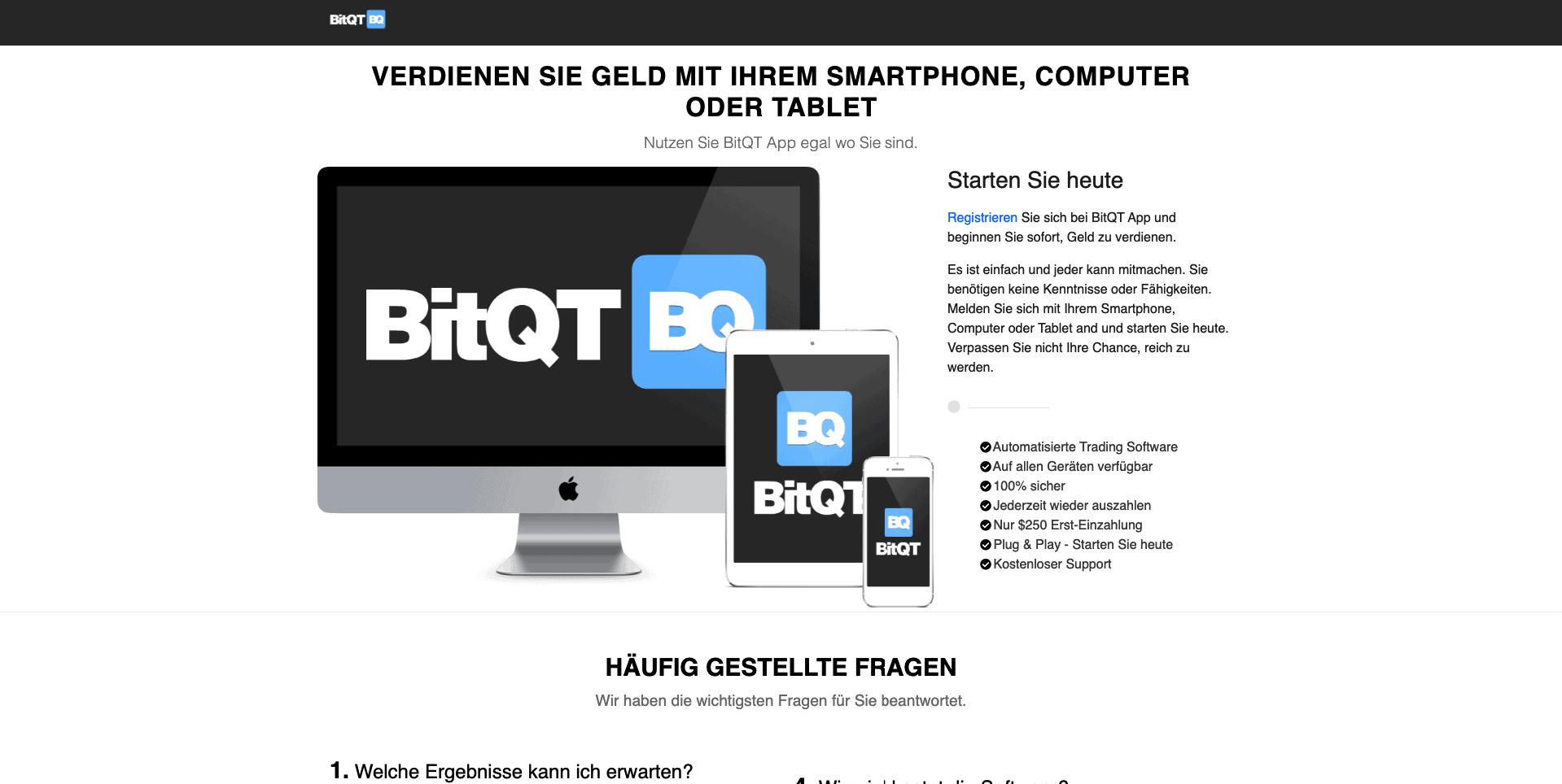 Wie funktioniert bitqt?
