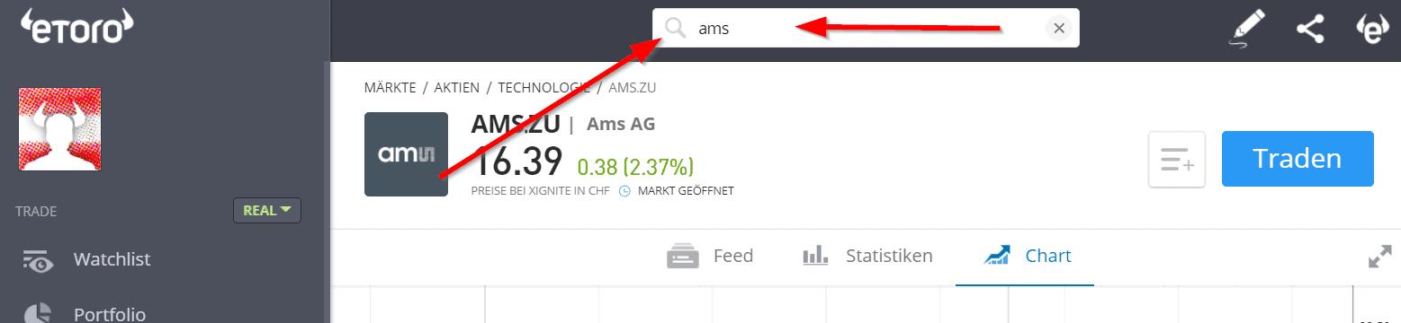 ams Aktie kaufen