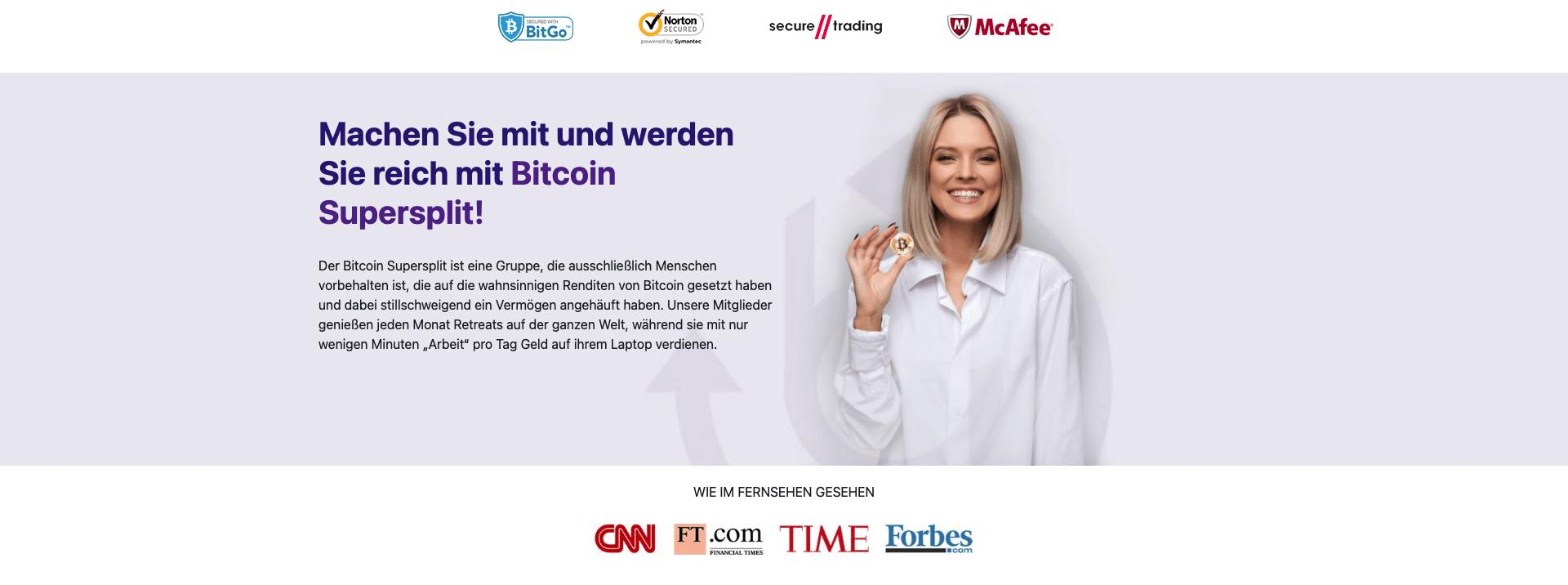 Bitcoin Supersplit serioes