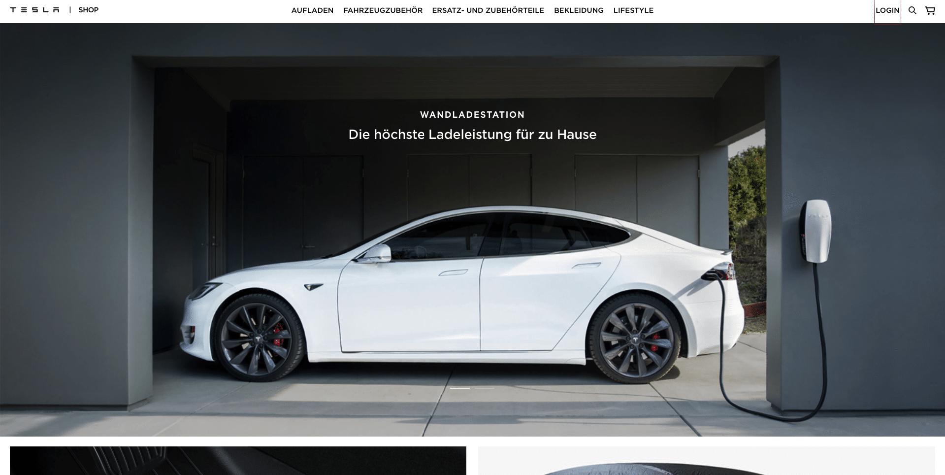 Tesla investieren