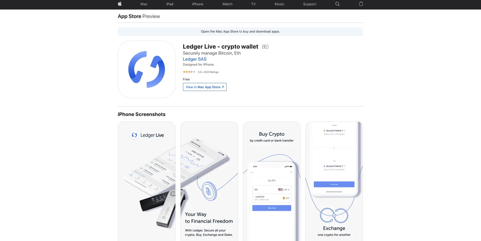 ledger app