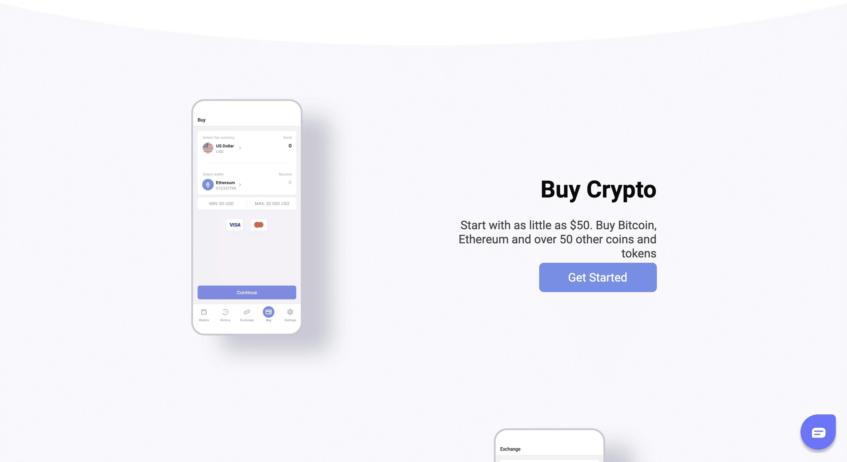 Guarda wallet app