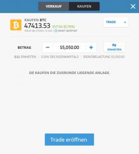 Bitcoin Demokonto Bitcoin kaufen