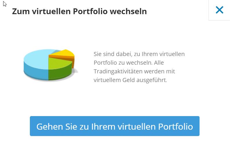 Virtuelles Portfolio
