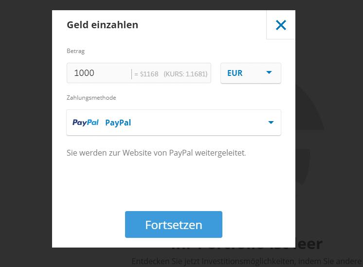 tether kaufen mit paypal